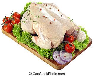 Fresh raw chicken