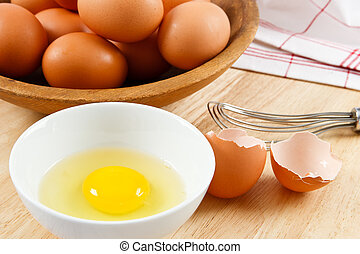 Eggs are a healthy food and a dangerous allergen for anyone with a food allergy