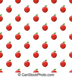 Fresh red apple pattern