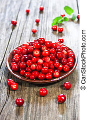 fresh red berries