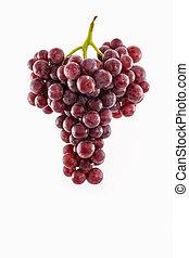 Fresh red Grape .