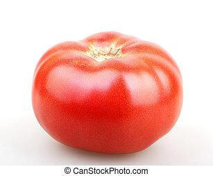 Fresh red tomato.