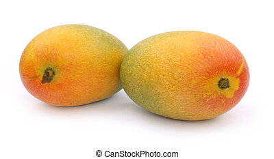 Fresh ripe mangoes