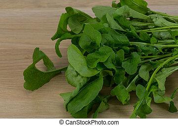 Rucola leaves