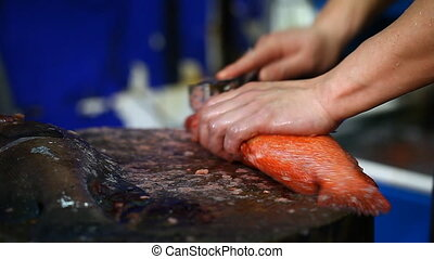 Fresh Seafood Market in Hong Kong - Asian cuisine, fresh...