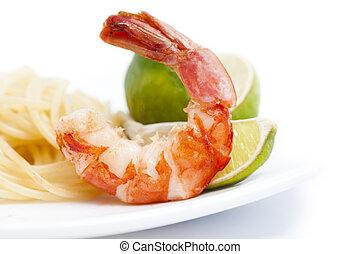 fresh seafood, shrimp