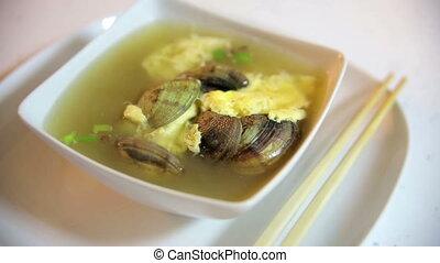 Fresh seafood soup