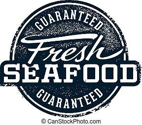 Fresh Seafood Stamp