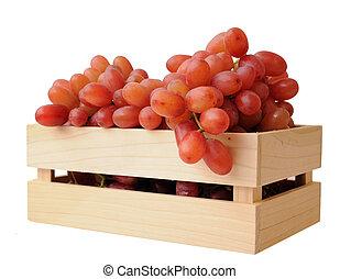 grape in crate