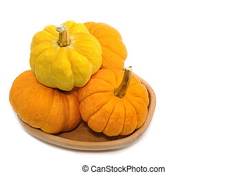 fresh small  pumpkin