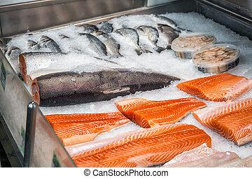 Fresh solomon fish