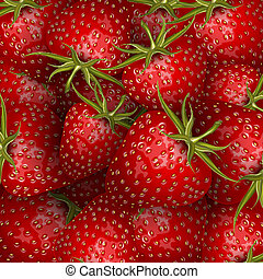 Fresh strawberry background