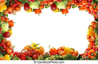 Fresh tasty vegetables fractal
