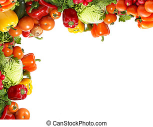 Fresh tasty vegetables fractal