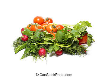 Fresh tasty vegetables - Different fresh tasty vegetables...