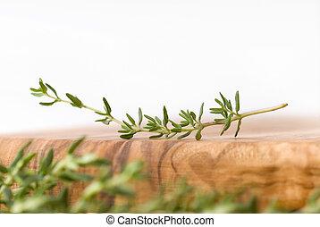 fresh thyme scenery 2