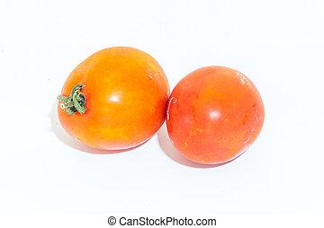 fresh tomato isolated