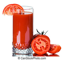 Fresh tomato juice - Fresh tomato and fresh tomato juice in...