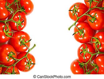 fresh tomatoes frame