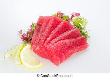 Fresh tuna fillet