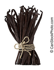 fresh vanilla bunch - fresh vanilla beans bond together...
