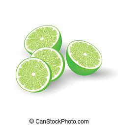 Fresh vector limes