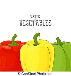 fresh vegetable illustration