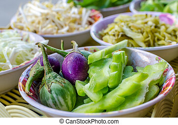 Fresh vegetable in bowl