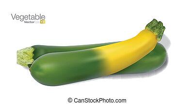 Fresh vegetable marrow
