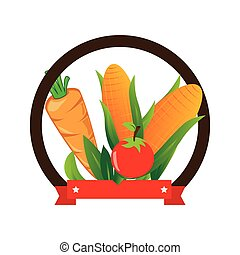 fresh vegetable product seal