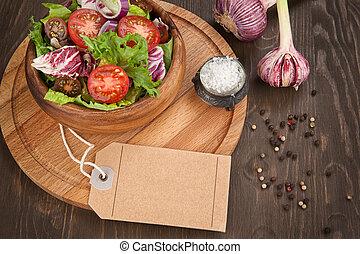 vegetable salad in bowl