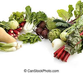 Fresh Vegetables Arrangement