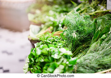 Fresh vegetables for cooking healthy food