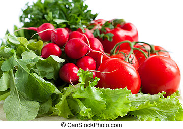 Fresh vegetables - good health
