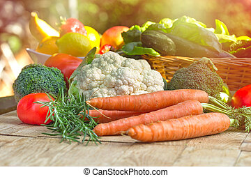 Fresh vegetables - healthy food