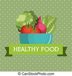 fresh vegetables healthy food