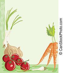fresh vegetables,