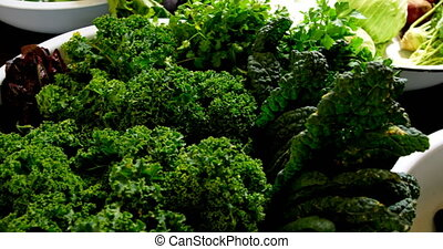 Fresh vegetables in the table 4k - Fresh vegetables in the ...