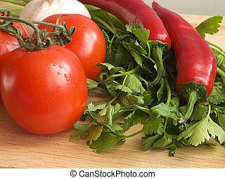 Fresh vegetables IV