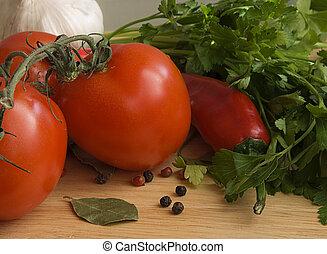 Fresh vegetables VI