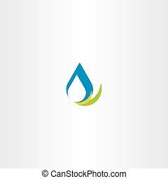 fresh water icon logo sign vector