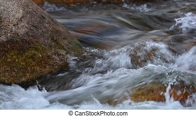 Fresh Water River White Water High Definition - Fresh water...
