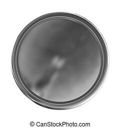 Fresh Web button isolated on white background