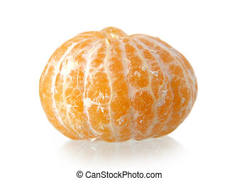 fresh whole clementines isolated