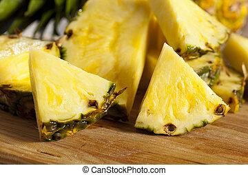 Fresh Yellow Organic Pineapple