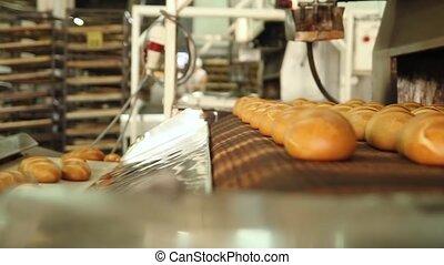 Freshly baked bread.