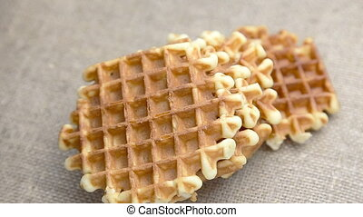 Freshly belgian waffles - Freshly homemade belgian waffles...