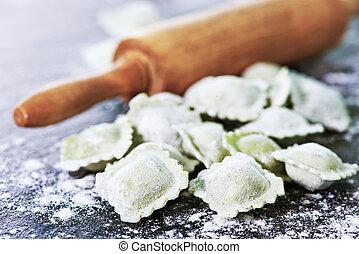 Freshly Made Homemade Ravioli - Freshly Made Homemade...