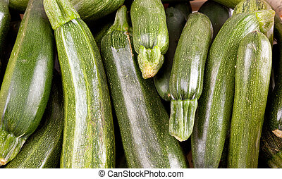 Freshly picked zucchini wallpaper