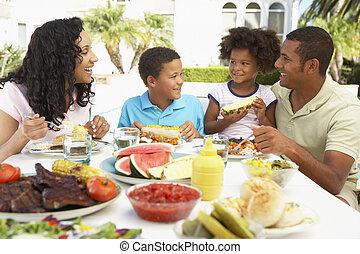 fresk, jedzenie, aluminium, rodzinna mąka